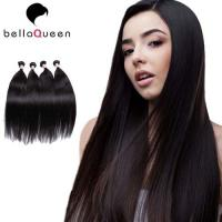 Wholesale 10 inch - 30 inch Girl use Burmese Remy Hair Natural Black Straight Without Chemical from china suppliers