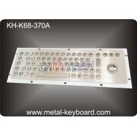 Wholesale Vandal Resistant Industrial Computer Keyboard with trackball , water resistant keyboard Metal from china suppliers