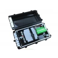 Wholesale Tuolima FTTH 72 Cores Fiber Optic PVC Junction Box with PLC splitter from china suppliers