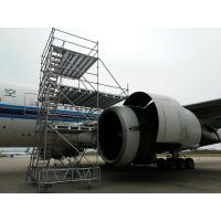 Wholesale Durable Aircraft Scaffolding Wing Dock with Aluminum steel composite structure from china suppliers