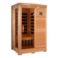 Wholesale Freestanding Dry Steam Portable Sauna Room Cedar Wood Material CE Certificate from china suppliers