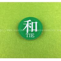 Wholesale Acrylic Banker Player TIE Wins Casino Accessories Run Up Marker Eco Friendly from china suppliers