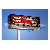 Wholesale 10 mm Outdoor LED Billboard with Synchronous Control Meanwell Power from china suppliers