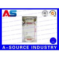 Wholesale Sterile Small Glass Vials Bottle Packaging With Grey Rubber And Flip Off from china suppliers