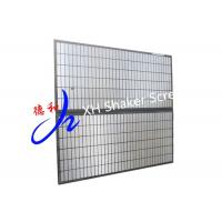 Buy cheap Oil Drilling Parts / Black Color Mongoose Shaker Screens For Solid Control from wholesalers