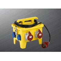 Wholesale Custom 12 Pole Portable Distribution Box 250 Vac Outdoor Application from china suppliers