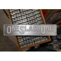 Wholesale 50% OFF white stamping foil for aluminum license plate from china suppliers