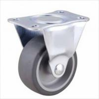 China 2 inch small TPR wheels for wood floor on sale