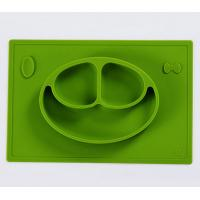 Wholesale Baby Silicone Placemat Tray Of Feeding Food Mealtime With Infants And Toddlers from china suppliers