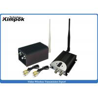 Wholesale 60KM LOS UAV Video Transmitter and Receiver 1.2GHz Wireless Video System 8 Channels from china suppliers