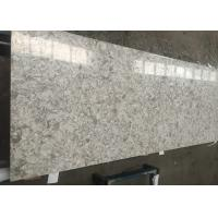 Wholesale Natural Stone Looking Quartz Composite Worktops , Custom Cut Stone Table Top from china suppliers