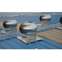 Wholesale 300m Industrial Wind Powered Turbine Roof Ventilator from china suppliers