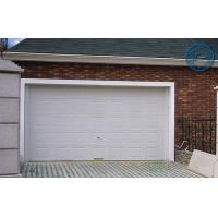 Wholesale White Insulated Garage Doors Non-finger Protection , 40mm Steel Panel from china suppliers
