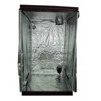 Wholesale High Reflective Hydroponic Grow Room with 600D Mylar Fabric and View Window, Red Edge 4×4 from china suppliers