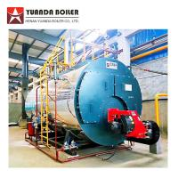 China Industrial Low Pressure Fire Tube 4 Ton Bunker Oil Steam Boiler for Carton Factory on sale