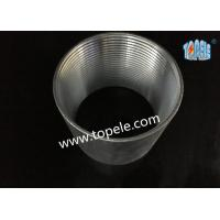 Wholesale Rigid Coupling Zinc Plated Steel , IMC Conduit Fittings , Electrical Galvanized Threaded Coupler from china suppliers