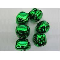 Wholesale green color cross jingle bells christmas jingle bell ornament from china suppliers