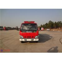 Quality Strobe Lights Installed Water Tanker Fire Truck With Hydraulic Control Clutch for sale