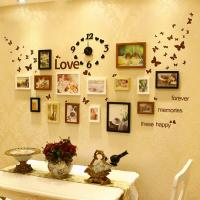 Wholesale Wholesale black wall clock with love photo frame On sale wedding wall clock with photo from china suppliers