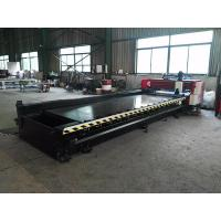 High Speed Horizontal CNC V Grooving Machine 4000mm Length Alloy Blade Cutting Stainless