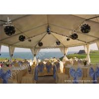 Wholesale Team Outdoor Party Tents , Fire Resistant Commercial Backyard Tents For Parties from china suppliers