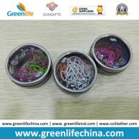 Buy cheap Promotional Paper Clips Packed Customized 10PCS in Tinplate Round Box from wholesalers