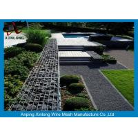 Wholesale 4mm 5mm 6mm Gabion Wire Mesh Garden Gabion Baskets Low Carbon Iron Wire Material from china suppliers