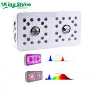 Wholesale Dimmable CREE CXB3590 led grow light DUAL LENS and 2 Channels for VEG/BLOOM full spectrum from china suppliers