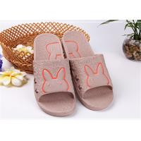 Wholesale Colorful Cute Comfortable House Slippers With Bunny Rabbit Pattern Customized Size from china suppliers