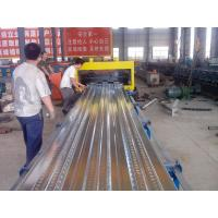 Wholesale Roof Tile Floor Decking Iron Sheet Making Machine With 5.5 KW Servo Motor from china suppliers