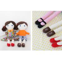 Quality Eco-friendly 100% linen fabric girl doll Hand-stitched toy gift for home decoration for sale