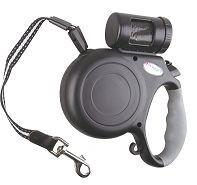 Buy cheap Retractable dog durable leash with waste bags from wholesalers