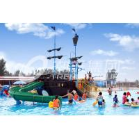 Wholesale Customized Aqua Park Equipment Fiberglass Pirate Ship , Outdoor Playground Sets from china suppliers