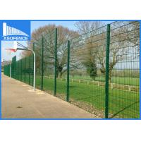 Wholesale Germany Ral6005 Double Wire Fence Powder Coated Dark Green Color from china suppliers