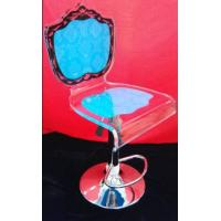 Wholesale Colorful Modern Acrylic Furniture / Acrylic Chair With Rolling Base from china suppliers