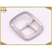 Wholesale Custom Silver Plated Pin Belt Buckle / Mens Fashion Belt Buckles from china suppliers