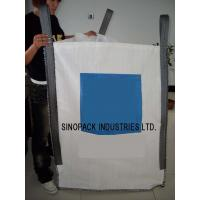 Wholesale 2200LBS U-panel sand / cement / soil  FIBC Jumbo Bag , 5-1 Safety factor from china suppliers