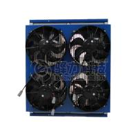 Quality 260HP engine 125KW cooling power 10M-12M  bus electric  engine cooling system for sale