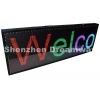 Wholesale USB Control PH5 Indoor Full Color LED Moving Display Board with 192×64 pixels from china suppliers
