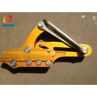 Wholesale OPGW Diameter 11-15mm Aluminum Come Along Clamps 16KN Wire Grips from china suppliers