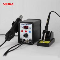 Quality YIHUA 8786D SMD Rework Station Hot Air 2 IN 1 Soldering Station With LED Display for sale
