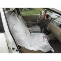 Wholesale LDPE steering wheel cover, car seat cover, disposable cover, pe car foot mat, gear cover from china suppliers