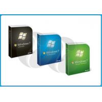 Quality Microsoft Windows 7 Pro Retail Box win 7 home premium 32 bit / 64 bit for sale