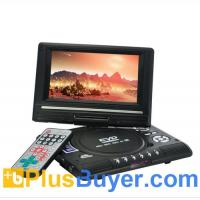 Wholesale 7 Inch Swivel Screen Portable DVD Player (Remote, TV, Region Free) from china suppliers