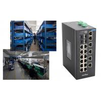Wholesale 4 gigabit SFP ports and 18 megabit ethernte ports unmanaged industrial switch No fan from china suppliers