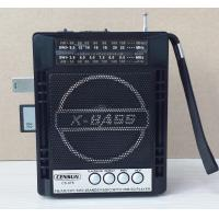 Wholesale multi-band radio receiver with USB, SD,MIC and LED light function from china suppliers