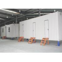 Wholesale EPS Sanwish Panel Ablution Container , Prefabricated Mobile Toilet 20 Feet from china suppliers