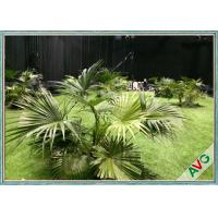 Quality Environment Friendly Outdoor Artificial Grass Keeping Evergreen SGS Approval for sale