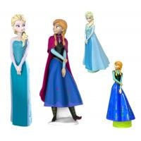 Wholesale Blue Snow Color Disney Frozen Figurines Cartoon Shampoo Bottle ANNA ELSA Princess Container from china suppliers