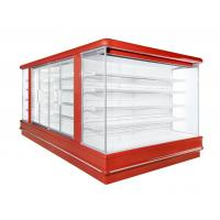 Wholesale Super Mall Open Deck Chiller Fruits Vegetable Display Showcase 2 To 8 Degree from china suppliers